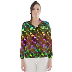 Cool Glitter Pattern Wind Breaker (Women)