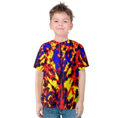 Fire Tree Pop Art Kid s Cotton Tee