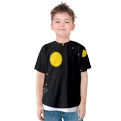 Cycle to the moon Kid s Cotton Tee