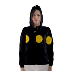 Cycle to the moon Hooded Wind Breaker (Women)