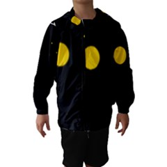 Cycle to the moon Hooded Wind Breaker (Kids)