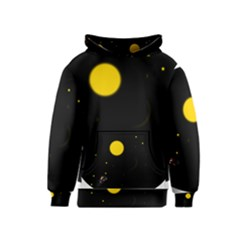 Cycle To The Moon Kid s Pullover Hoodies