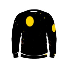 Cycle to the moon Boys  Sweatshirts