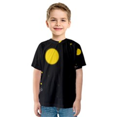 Cycle to the moon Kid s Sport Mesh Tees