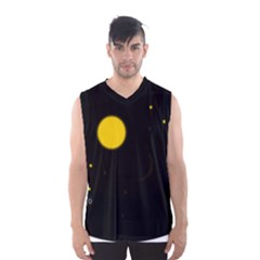 Cycle To The Moon Men s Basketball Tank Top