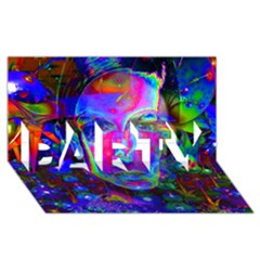 Night Dancer PARTY 3D Greeting Card (8x4)