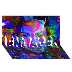 Night Dancer ENGAGED 3D Greeting Card (8x4)