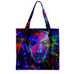 Night Dancer Grocery Tote Bags