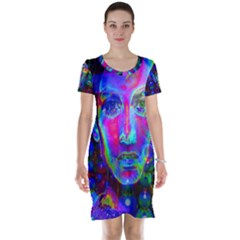 Night Dancer Short Sleeve Nightdresses
