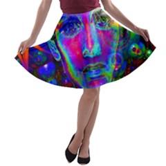 Night Dancer A-line Skater Skirt