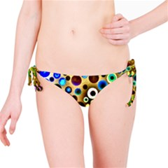 Colourful Circles Pattern Bikini Bottoms