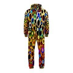 Colourful Circles Pattern Hooded Jumpsuit (kids)