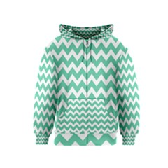 Chevron Pattern Gifts Kids Zipper Hoodies