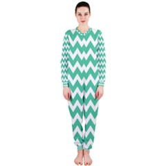 Chevron Pattern Gifts Onepiece Jumpsuit (ladies)