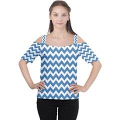 Chevron Pattern Gifts Women s Cutout Shoulder Tee