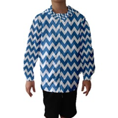 Chevron Pattern Gifts Hooded Wind Breaker (kids)