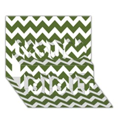 Chevron Pattern Gifts You Did It 3d Greeting Card (7x5)