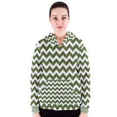 Chevron Pattern Gifts Women s Zipper Hoodies