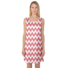 Chevron Pattern Gifts Sleeveless Satin Nightdresses