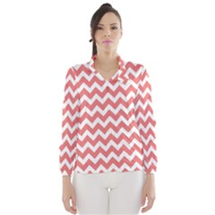 Chevron Pattern Gifts Wind Breaker (Women)
