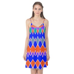 Rhombus chains Camis Nightgown