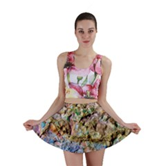 Abstract Background Wall 1 Mini Skirts