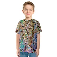 Abstract Background Wallpaper 1 Kid s Sport Mesh Tees