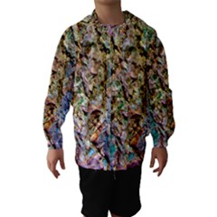 Abstract Background Wallpaper 1 Hooded Wind Breaker (Kids)