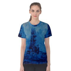 Lost At Sea Women s Cotton Tee