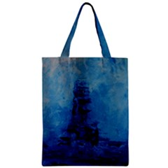 Lost At Sea Zipper Classic Tote Bags