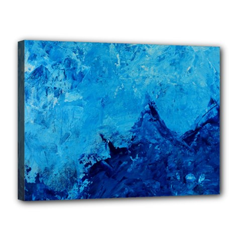 Waves Canvas 16  X 12