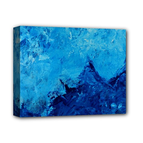 Waves Deluxe Canvas 14  x 11
