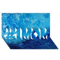 Waves #1 Mom 3d Greeting Cards (8x4)