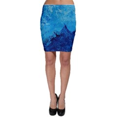 Waves Bodycon Skirts