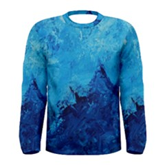 Waves Men s Long Sleeve T Shirts