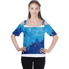 Waves Women s Cutout Shoulder Tee