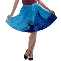 Waves A Line Skater Skirt