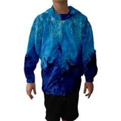Waves Hooded Wind Breaker (Kids)