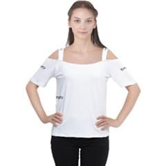 Medellin lit1111044014 Women s Cutout Shoulder Tee