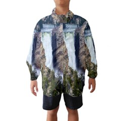 YELLOWSTONE WATERFALL Wind Breaker (Kids)