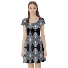 Lit1211088007 Short Sleeve Skater Dresses