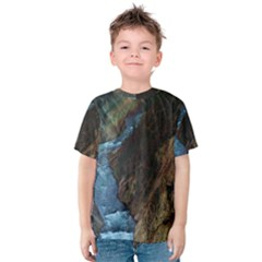 YELLOWSTONE LOWER FALLS Kid s Cotton Tee