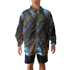 YELLOWSTONE LOWER FALLS Wind Breaker (Kids)