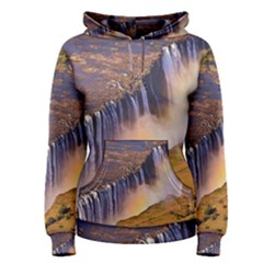 WATERFALL AFRICA ZAMBIA Women s Pullover Hoodies