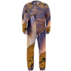 WATERFALL AFRICA ZAMBIA OnePiece Jumpsuit (Men)