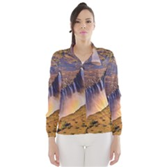 WATERFALL AFRICA ZAMBIA Wind Breaker (Women)