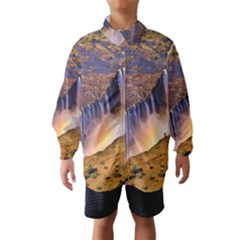 Waterfall Africa Zambia Wind Breaker (kids)