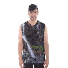 Waterfall Men s Basketball Tank Top