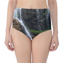 WATERFALL High-Waist Bikini Bottoms
