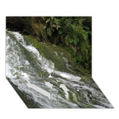 Water Overflow Love Bottom 3d Greeting Card (7x5)